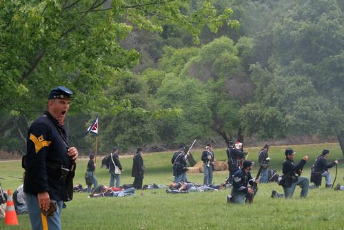 Civil War Reenactment, Roaring Camp, Felton Ca