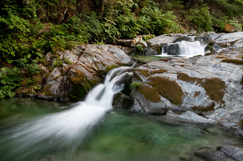 ca rock landscape us waterfall moss slide boulders pools vegetation cascade redbluff whiskeytown brandycreek nohdr