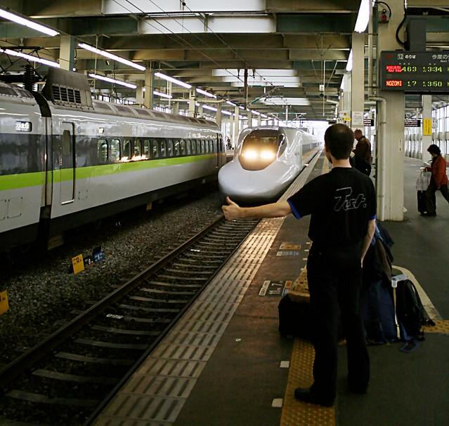 Testing the Shinkansen