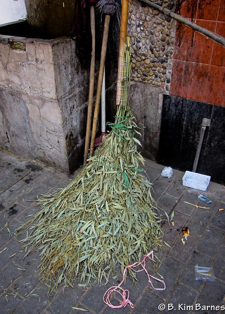 Broom art