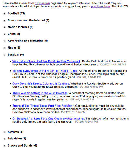 NY Times Outline screen shot | by scriptingnews