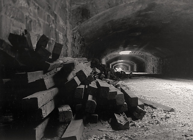 Abandoned Railroad Tunnel, Philadelphia
