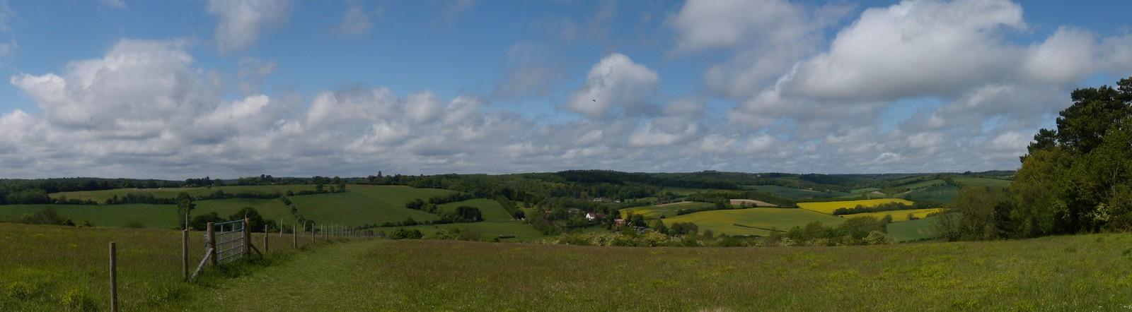 Panorama 1 - first 'view' Henley Circular via Stonor