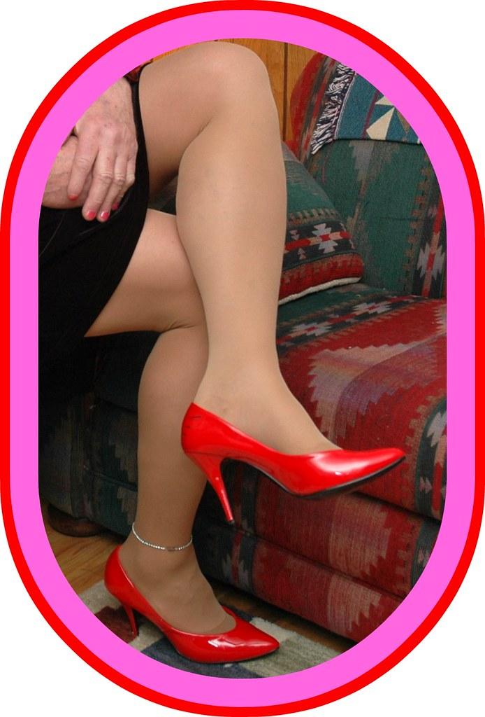 Sexy heels and hose pics