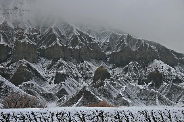 Grey Cliffs - Caineville, Utah