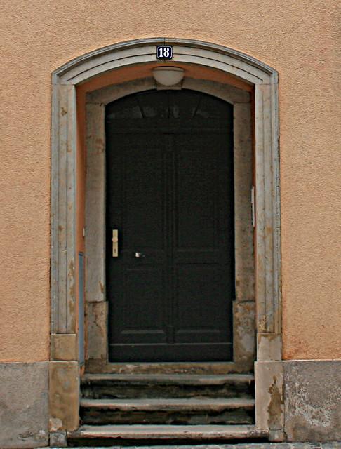 Door, Radeberg, Germany