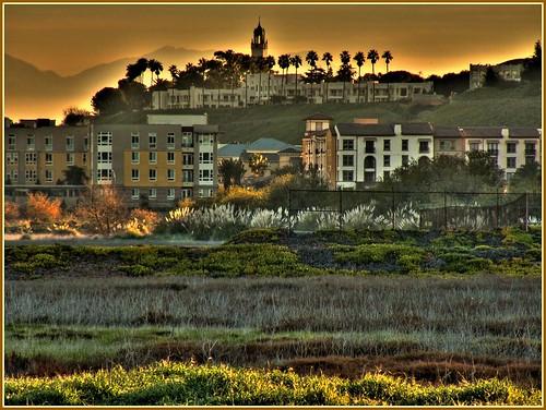 Playa Vista Sunrise by Jaimito Cartero