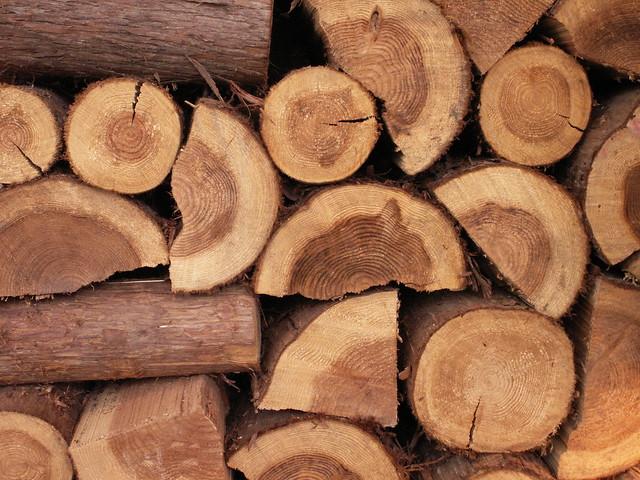 stacked cedar