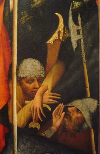 1380-1385 - 'Třeboň-altarpiece, resurrection' (Master of the Třeboň-altarpiece), Praha, Klášter sv. Anežky České, Praha, Czech Republic