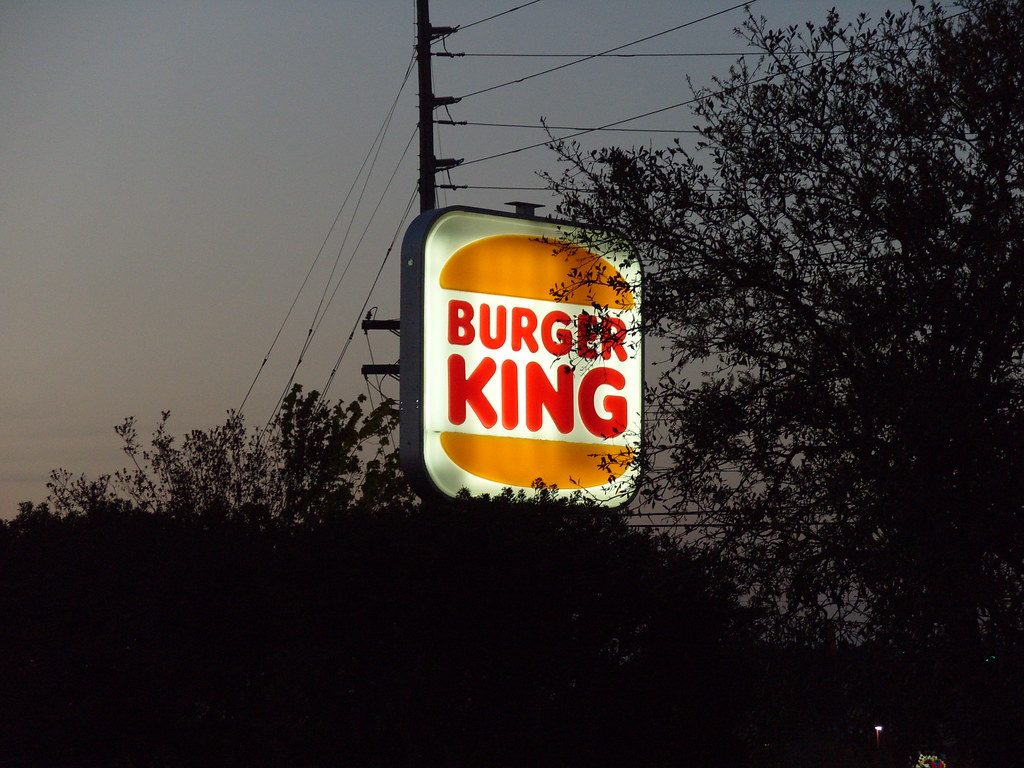 2008 Old Burger King Logo, Myrtle Beach, SC