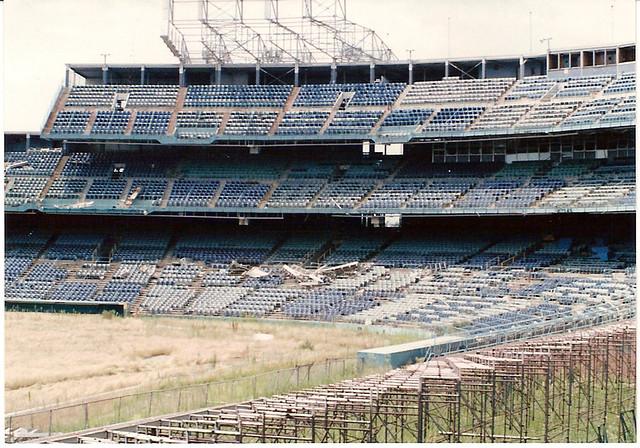 Abandoned Metropolitan Stadium Minnesota Twins