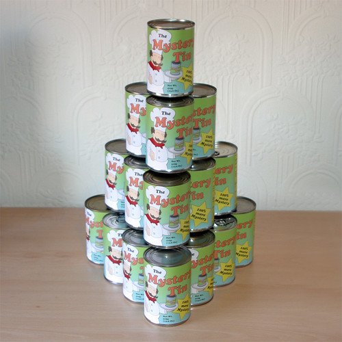 Mystery Tins stacked