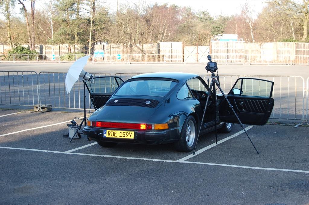 911 & Porsche World photo shoot