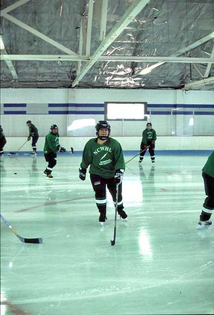 NCWHL Green Division jersey