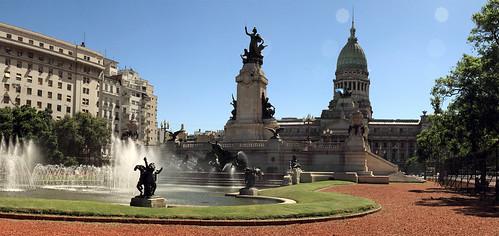 plaza del congreso | by Mathieu Bertrand Struck