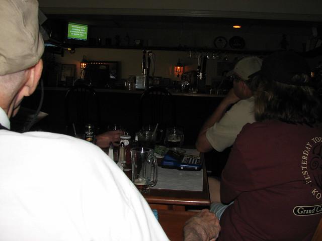 Playing Trivia at the Green Oak Pub