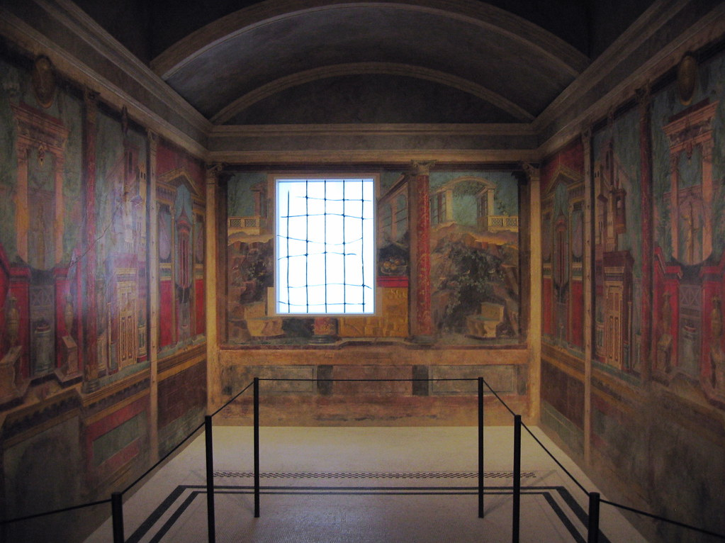 a pompeii bedroom | Metropolitan Museum of Art, NYC ...