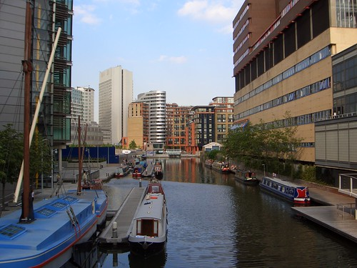 Paddington Basin, Grand Union Canal, London