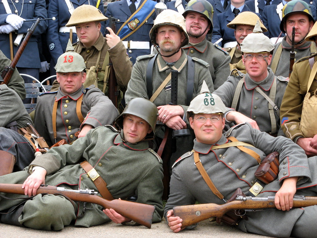 imperial german army | members of the 10th Essex the Birming… | Flickr