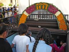 Entrada de la estación del metro Zócalo