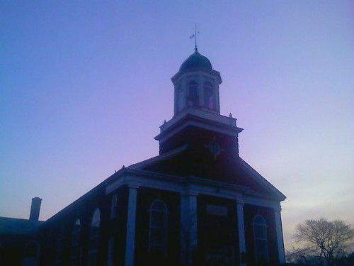 morning winter sunrise dawn newjersey nj historic lowres cellphonecamera warrencounty wesleymethodistchurch phillipsburgnj us22 nj173 old22 nj122 morristurnpike eastonbrunswickroad