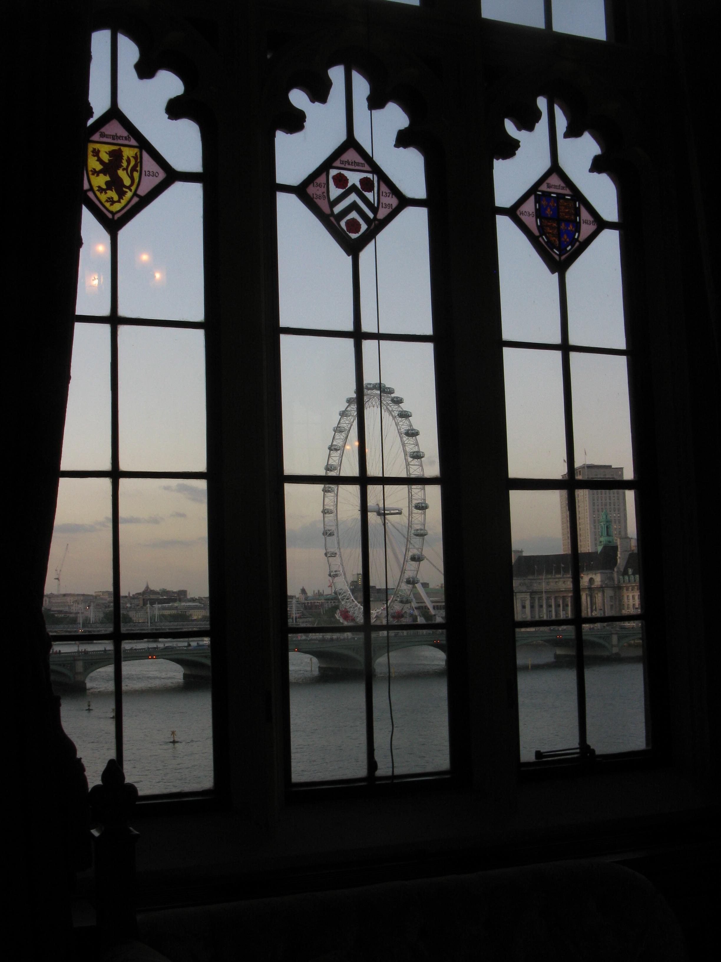 London Eye triptych