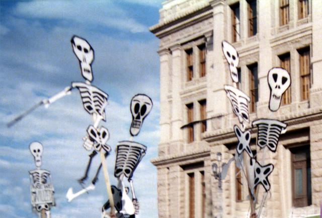 Jangly Skeletons On A Stick - Austin, TX