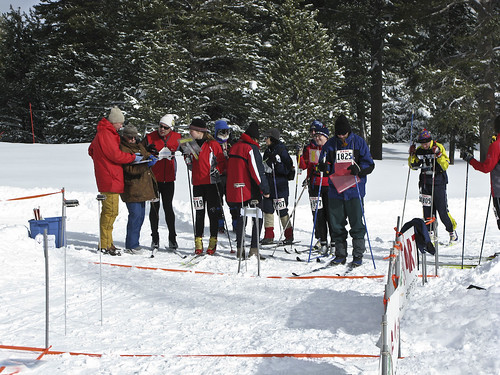 The start box at Tahoe Donner | by Neil Hunt