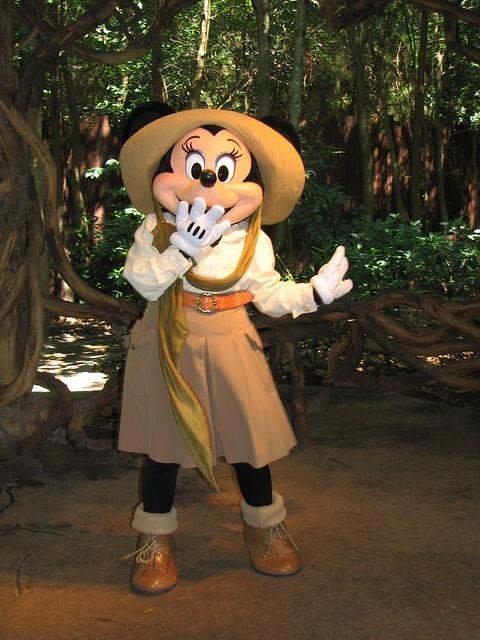 Safari Minnie Mouse