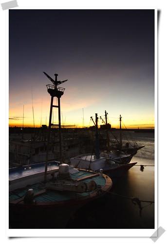 sunset sun sunshine canon landscape hsinchu taiwan 台灣 日落 新竹 2007 南寮漁港 platinumphoto aplusphoto