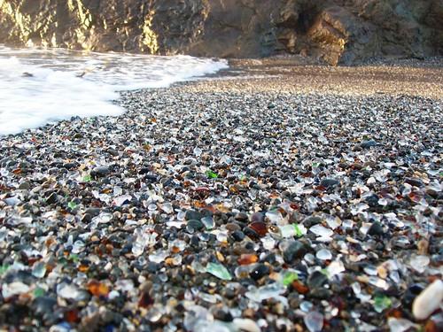california beach glass coast shore mendocino glassbeach fortbragg glassbeads mlhradio