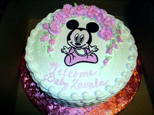 baby shower cake | by sewmuchfun0