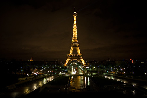Eiffel Tower @ Night | by myeyesareclosed