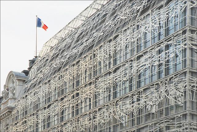 Le ministère de la culture à Paris
