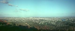 Brisbane From Mt Coot-tha - 1979