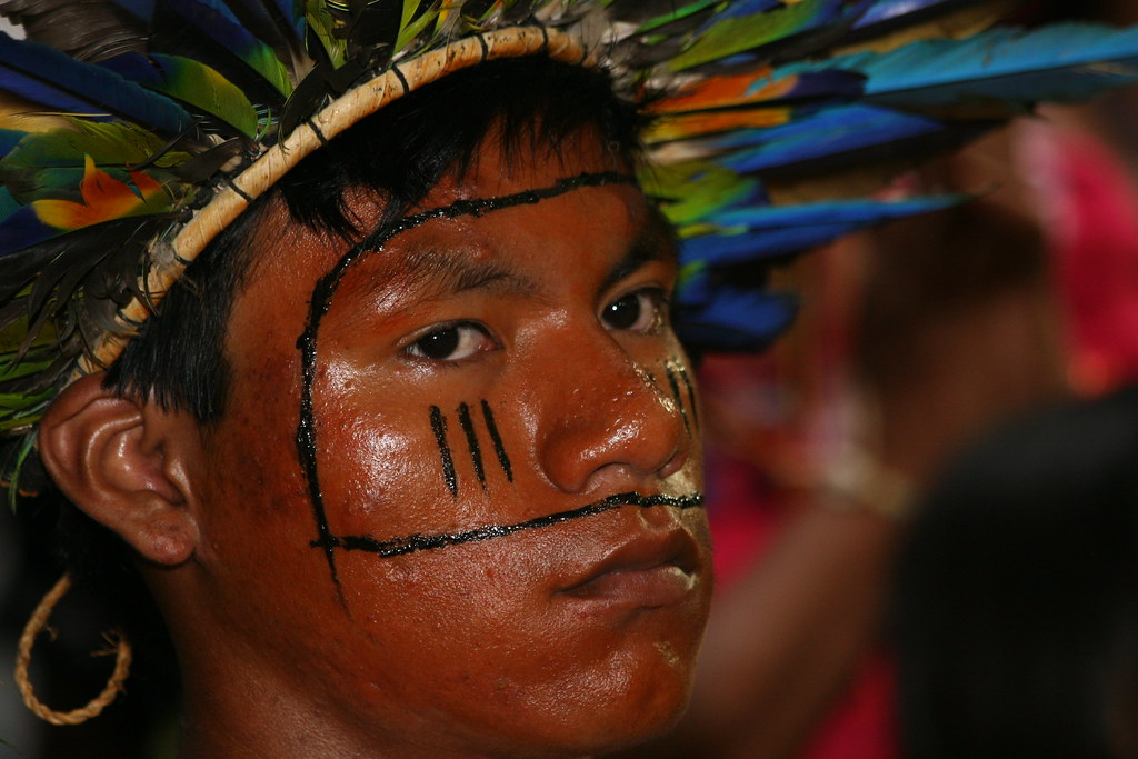 Índio Bororo