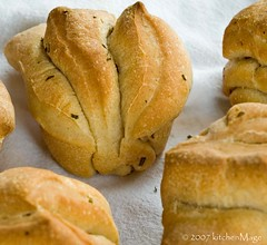 rosemary fan roll | by kitchenmage