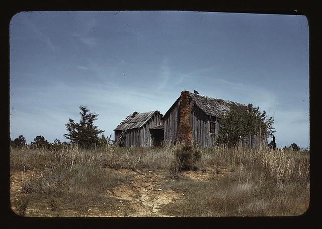 Cabin in Southern U.S.  (LOC)