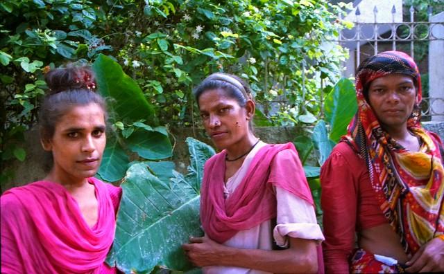 Hijras of Panscheel Park II, New Delhi, India, 1994.