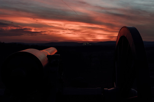 civilwar battlefield color sunset nationalpark exploration pentaxk1 gettysburg cannon pentax explore littleroundtop pennsylvania vibrant park war history k1 pa unitedstates us
