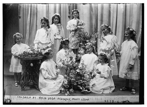 Children at Raja Yoga Academy, Point Loma  (LOC) | by The Library of Congress
