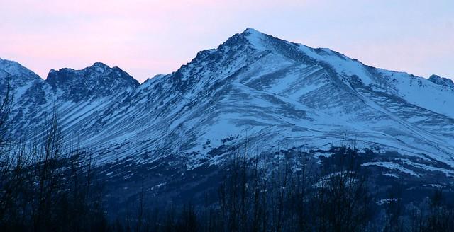Wolverine Peak before dawn