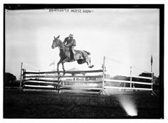 Monmouth Horse Show [jumping]  (LOC) | by The Library of Congress
