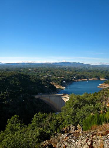 portugal rio river landscape dam paisagem barragem zêzere sertã pedrogãopequeno