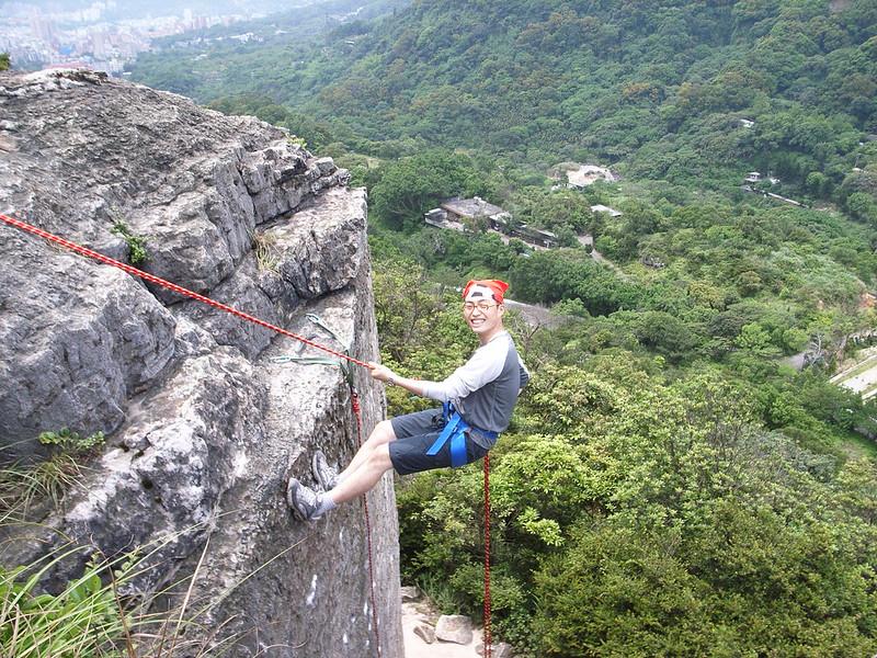 2008上半年山茼蒿嚮導訓練營:垂降