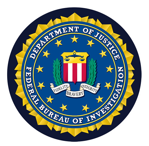 Federal Bureau of Investigation Seal | by DonkeyHotey