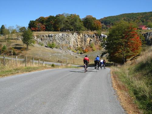 cycling cyclists virginia bluegrass bicycles foliage wv westvirginia va blueridgebyways