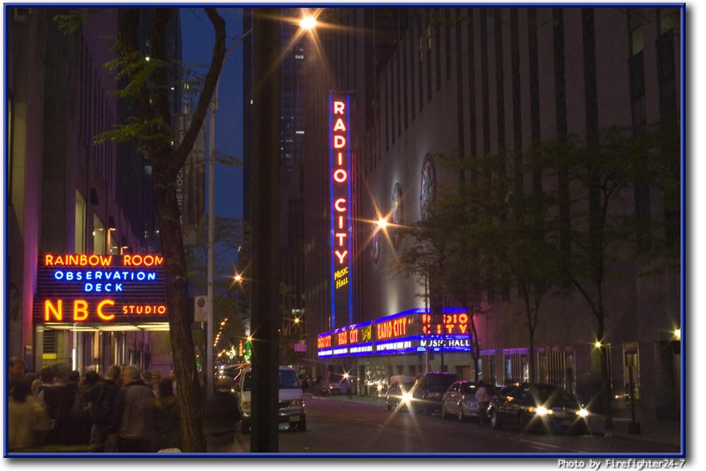 Rockefeller Center Radio City Nbc After The Stock Mark Flickr