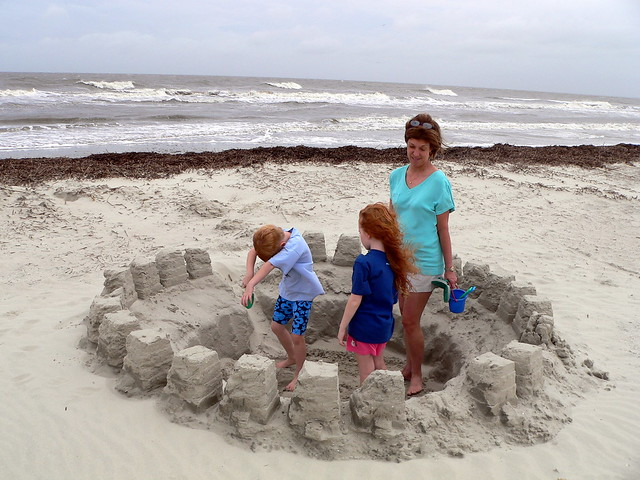 Playing in someone else's sand castle