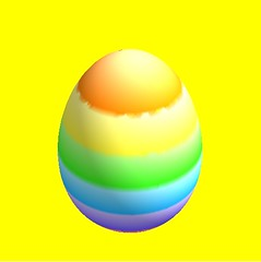Easter Egg made in Mathematica   by Kathryn Cramer